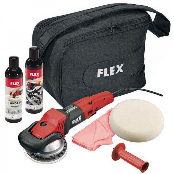 FLEX Exzenterpolierer 900 Watt mit Zubehör