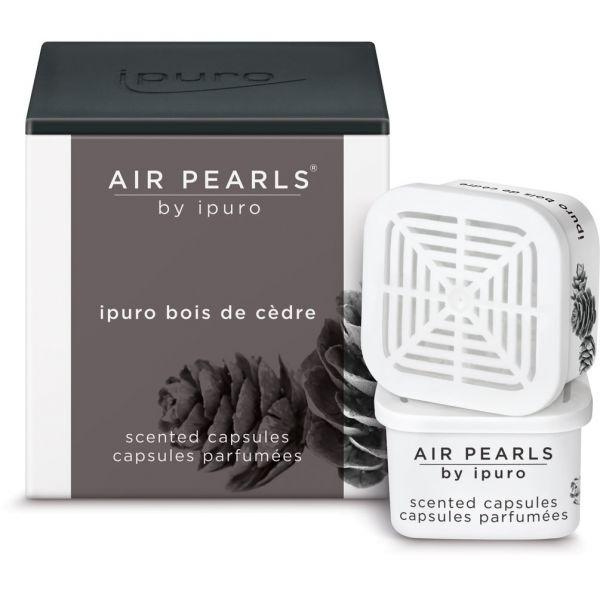 ipuro Air Pearl Capsules, bois de cèdre, 2 x 6g