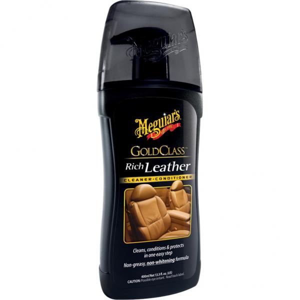 Meguiar's Gold Class Lederreiniger & -pflege Gel, 400 ml