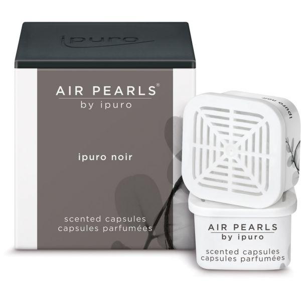 ipuro Air Pearl Capsules, noir, 2 x 6g