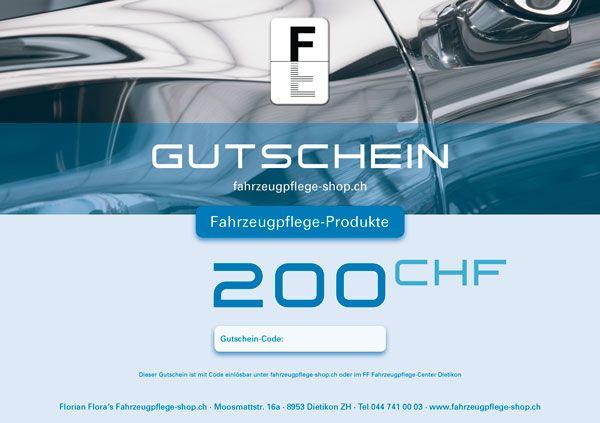 FF Geschenk-Gutschein PRODUKTE 200.00