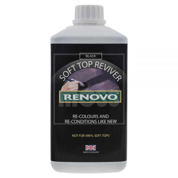Renovo Soft Top Reviver Cabrio-Verdeck Farbauffrischer schwarz 500 ml