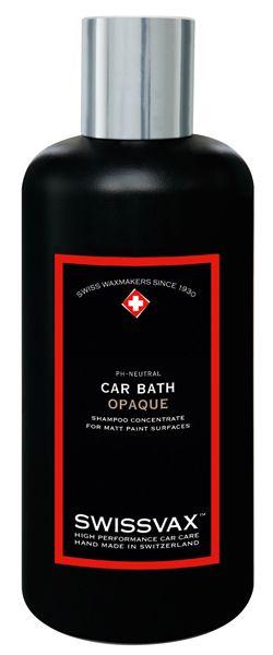 Swissvax CAR BATH OPAQUE Wasch-Konzentrat für Mattlacke 250 ml