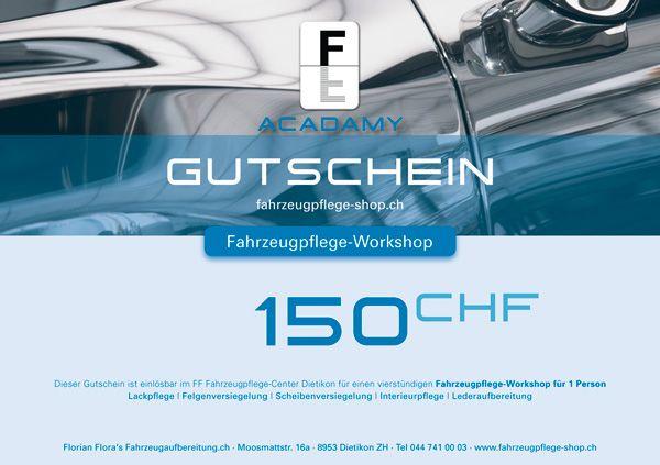 FF Geschenk-Gutschein WORKSHOP 150.00