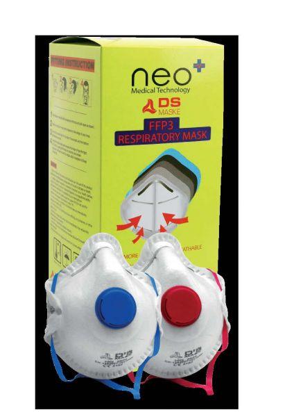 Atemschutzmaske FFP3 mit Ventil Box à 20 Stk.