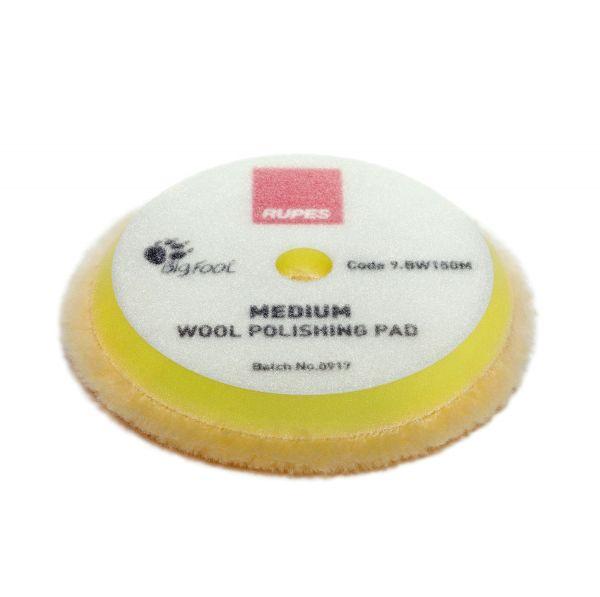 Rupes Yellow Wool Polishing Pad Medium Ø 150 mm 2 ér Pack