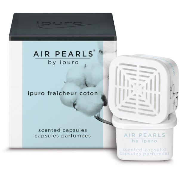 ipuro Air Pearl Capsules, fraîcheur coton, 2 x 6g