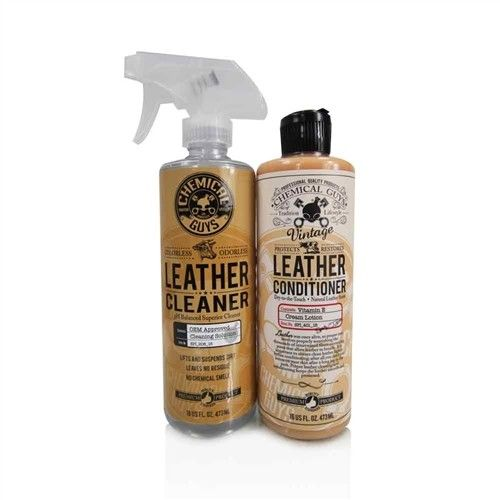 Chemical Guys Pure-Leather-Set CLEANER