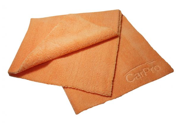 CarPro 2 Face Microfiber Towel orange 40 cm x 40 cm
