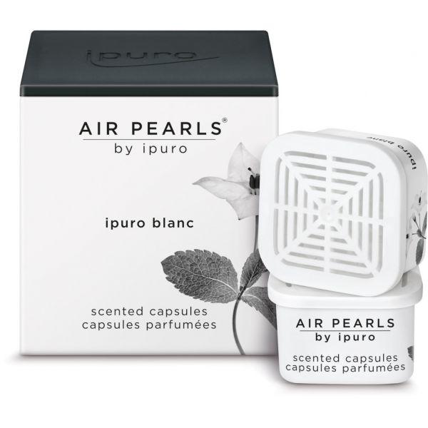 ipuro Air Pearl Capsules, blanc, 2 x 6g
