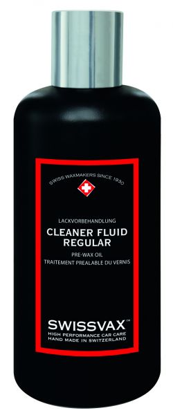Swissvax Cleaner Fluid Regular 100-250-470-1000 ml (Handpolitur)