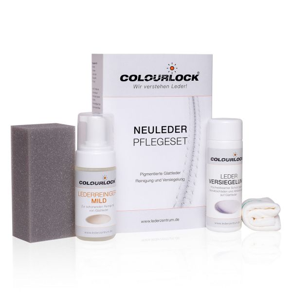 Colourlock Glattleder Versiegelungs-Set Mild