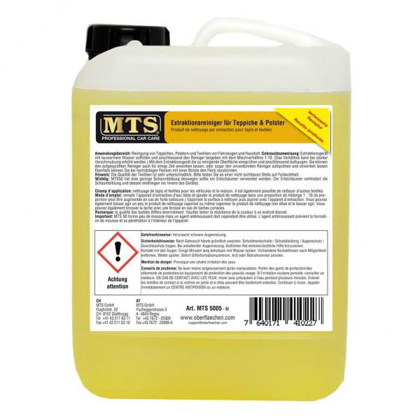 MTS Extraktionsreiniger für Teppiche & Polster à 5 Liter