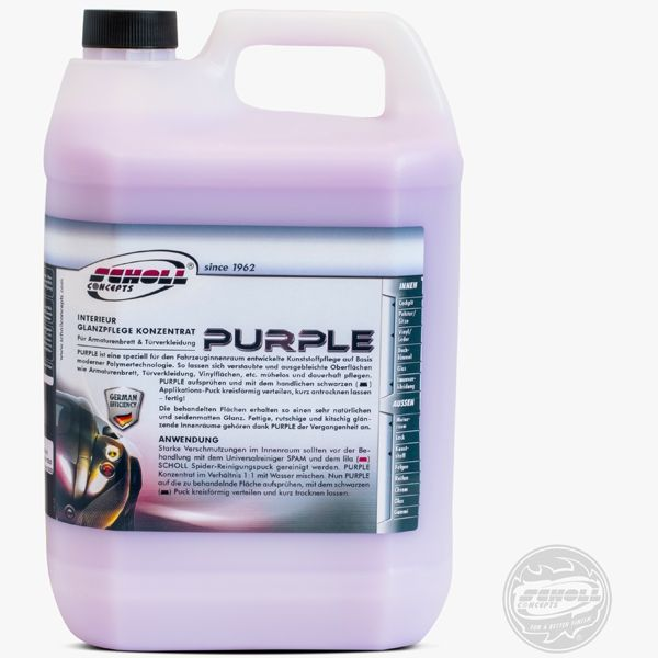 Scholl Liquid PURPLE 9000 Vinylpflege 5Ltr.