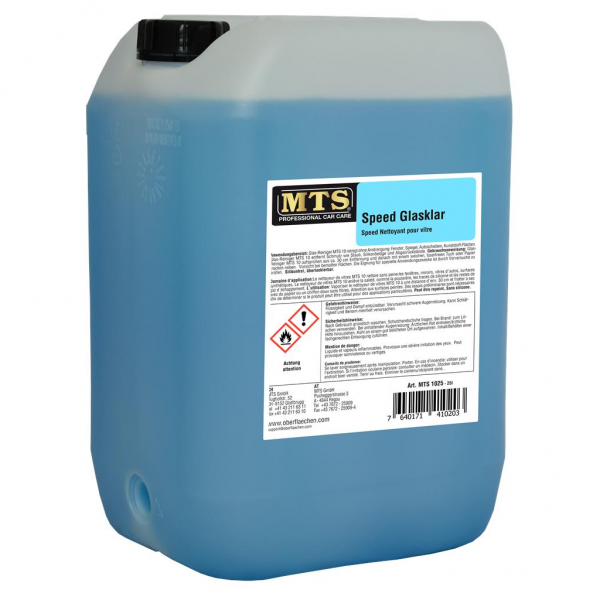 MTS Speed Glasklar, 25 Liter