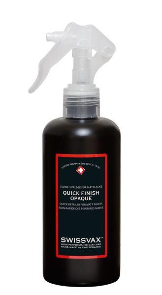 Swissvax Quick Finish Opaque Lack-Schnellpflege für Mattlacke 250 ml