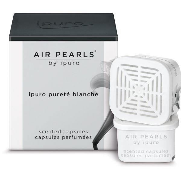 ipuro Air Pearl Capsules, pureté blanche, 2 x 6g