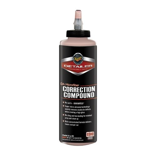 Meguiar's D300 DA Microfiber Correction Compound 473 ml