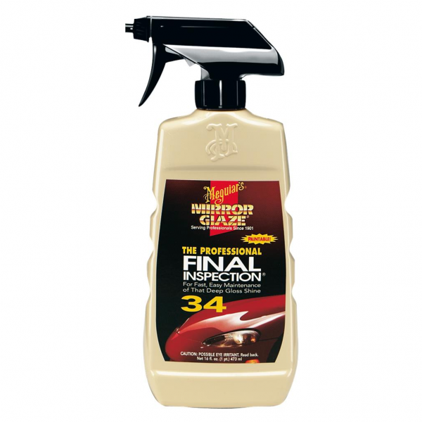 Meguiar's Final Inspection, Silikonfrei, 0,473 Liter