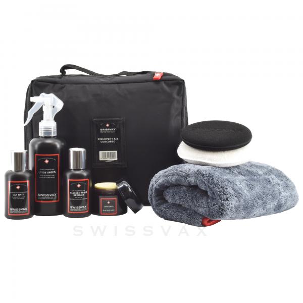 Swissvax Discovery Kit mit Wachs Concorso