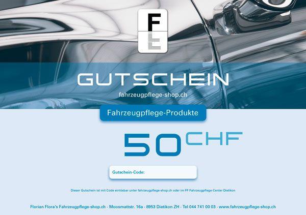 FF Geschenk-Gutschein PRODUKTE 50.00